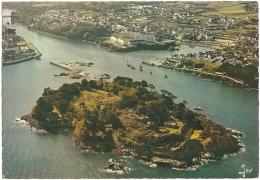 29 - Tréboul - Douarnenez - L'île Tristan Et L'entrée Du Port Rhu - éd. D'Art JOS N° V. 576 (non Circulée) - Douarnenez