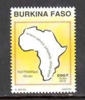 Burkina Faso Hub Philatélique Africain 2016 ** - Burkina Faso (1984-...)
