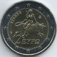 Griekenland    2018   2 Euro    UNC Uit De BU  UNC Du Coffret !! Zeldzaam - Extrème Rare !!! - Grèce