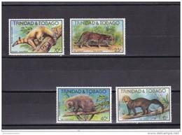 Trinidad Y Tobago Nº 380 Al 383 - Trinidad Y Tobago (1962-...)