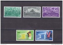 Trinidad Y Tobago Nº 192 Al 196 - Trinidad Y Tobago (1962-...)