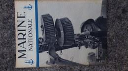 GUERRE 1939-1945- REVUE MARINE NATIONALE -MAI 1945-N° 7-ROYAN POINTE GRAVE-LA LORRAINE-DEBARQUEMENT-ILE OLERON-SAN REMO - Guerra 1939-45