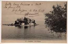 """Grèce :  Corfou : Ile D'Ulysse  - Corespondance A Bord Du """" Jean Bart """" - Grèce"""