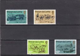 Tristan Da Cunha Nº 327 Al 330 - Tristan Da Cunha