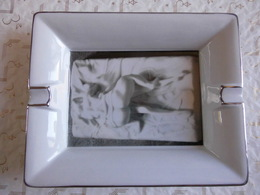 Cendrier Avec Reproduction Artistique érotique Chine Xu Hong Fei Art 300 Limited Edition Chao Zhou Jinyi 16x20! - Aziatische Kunst
