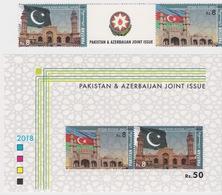 Pakistan & Azerbaijan Joint Issue - Pakistan