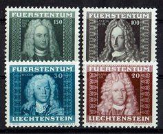 Liechtenstein 1941 // Mi. 198/201 ** (027..122) - Liechtenstein