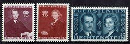 Liechtenstein 1943 // Mi. 211/213 ** - Liechtenstein