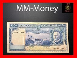 ANGOLA 1.000 1000 Escudos 10.6.1970 P. 98 VF - Angola