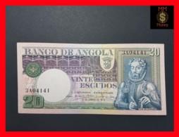 ANGOLA 20 Escudos 10.6.1973 P. 104 UNC - - Angola