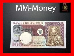 ANGOLA 100 Escudos 10.6.1973 P. 106 XF-AU - Angola