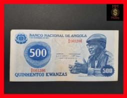 ANGOLA 500 Kwanzas 14.8.1979 P. 116 VF - Angola