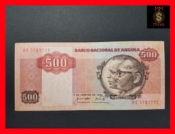 ANGOLA 500 Kwanzas 7.1.1984 P. 120 A  VF - Angola
