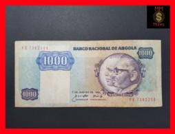 ANGOLA 1.000 1000  Kwanzas 7.1.1984 P. 121 A  F - Angola