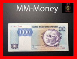 ANGOLA 1.000 1000 Kwanzas 7.1.1984 P. 121 B VF + - Angola