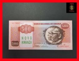 ANGOLA 500 Novo Kwanzas 11.11.1987 P. 123 UNC - Angola
