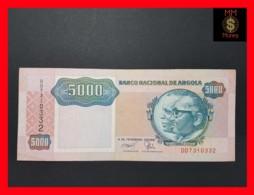 ANGOLA 5.000 5000 Kwanzas 4.2.1991 P. 130 B  VF - Angola