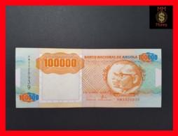 ANGOLA 100.000 100000 Kwanzas 4.2.1991 P. 133 A  VF - Angola