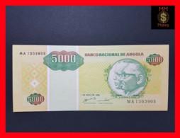 ANGOLA 5.000 5000 Kwanzas Reajustados 1.5.1995 P. 136 XF - Angola