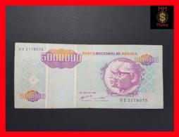 ANGOLA 5.000.000 5000000 Kwanzas Reajustados 1.5.1995 P.142 VF - Angola