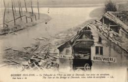 BELGIQUE - FLANDRE OCCIDENTALE - DIXMUDE - DIKSMUIDE - Guerre 1914-1916 - Le Débouché De L'Yser Au Pont De Dixmude, .... - Diksmuide