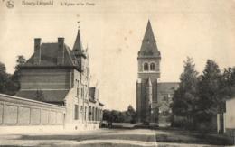 BELGIQUE - LIMBOURG - BOURG-LEOPOLD - LEOPOLDSBURG - L'Eglise Et La Poste. - Leopoldsburg
