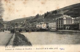 BELGIQUE - LUXEMBOURG - BOUILLON - Souvenir De Château De Bouillon - Boulevard Et Le Vieux Pont. - Bastenaken
