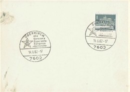 Germany - Sonderstempel / Special Cancellation  (S368) - Esperanto