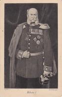 AK Wilhelm I. - Kaiser König - Nachporto - 1908 (36122) - Königshäuser