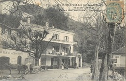 GORGES DU LOUP HOTEL RESTAURANT CASCADE VEUVE GAZAGNAIRE PROPRIETAIRE ATTELAGE CHEVAL 06 - Non Classés