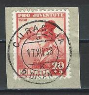 SBK J87 Stempel Curaglia - Poststempel