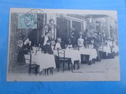 CPA - PARIS VECU  - PENDANT LA BELLE SAISON - RESTAURANT - Restaurants