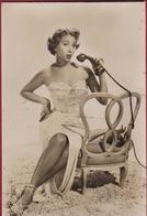Old Chromo American Actress MONICA LEWIS Artist Artiest Film Star Filmster Movie Cinema Singer CHICAGO - Artisti