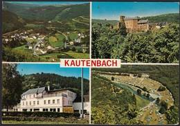 Kautenbach, 4 Vues, Carte Semi-moderne,   (2scans) - Other