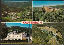 Kautenbach, 4 Vues, Carte Semi-moderne,   (2scans) - Cartes Postales