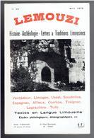 LEMOUZI 1972 VENTADOUR LIMOGES USSEL SOUDEILLES ESPAGNAC AFFIEUX CORREZE TREIGNAC LAGRAULIERE TULLE ALTILLAC ARCHE - Limousin