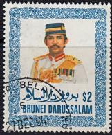 A0868 BRUNEI 1985, SG 380  $2 Sultan Sir Hussanl Bolkiah Mu'izzaddin Waddaulah, Fine Used - Brunei (1984-...)