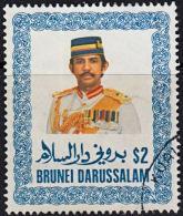 A1015 BRUNEI 1985, SG 380  $2 Sultan Sir Hussanl Bolkiah Mu'izzaddin Waddaulah, Fine Used - Brunei (1984-...)
