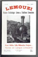 LEMOUZI 1973 USSEL ALTILLAC TULLE MILLEVACHES TREIGNAC GUERRE 1870 LES TRAINS DE CORREZE CONDAT SUR GANAVEIX ARCHE - Limousin