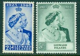 Leeward Islands; 1948 -Silver Wedding  Mint Hinged * - Leeward  Islands
