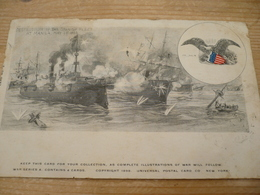 Manila 1898 Destruction Of The Spanish Fleet - Guerre