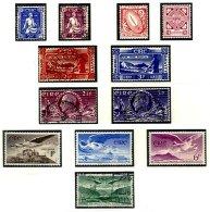 IRELAND, Commemoratives, Yv 102/09, Av 1/3, 5, */** MLH/MNH, F/VF, Cat. € 44 - Unused Stamps