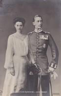 AK Der Deutsche Kronprinz Und Seine Braut - 1904 (36128) - Königshäuser
