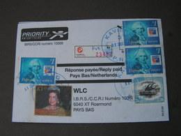 Papua 2002 Cv. To France - Papouasie-Nouvelle-Guinée