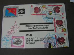 Papua 2004 Cv. To France - Papouasie-Nouvelle-Guinée