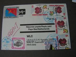 Papua 2004 Cv. To France - Papua-Neuguinea