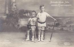AK Die Beiden ältesten Söhne Unseres Kronprinzenpaares - Ca. 1910 (36130) - Königshäuser