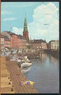 °°° 11041 - DENMARK - COPENHAGEN - GAMMEL STRAND 1957 With Stamps °°° - Danimarca