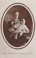 AK Unser Kronprinz Mit Seinem Jüngsten Sohn - 1913 (36133) - Königshäuser