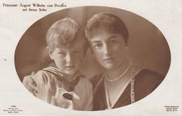 AK Prinzessin August Wilhelm Von Preußen Mit Ihrem Sohn - 1917 (36139) - Königshäuser